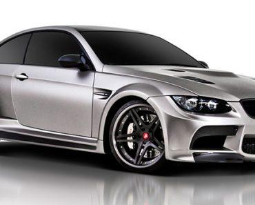 BMW M3 Vorsteiner GTRS3