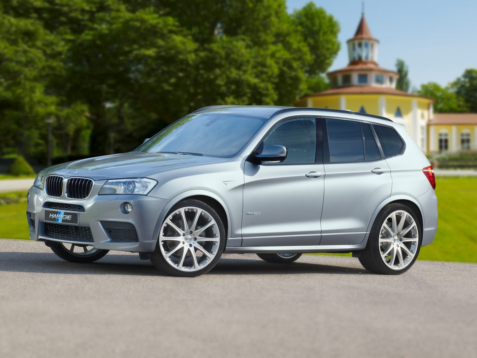 Hartge Tunes Up The Bmw X3 Xdrive35d Bmw Car Tuning