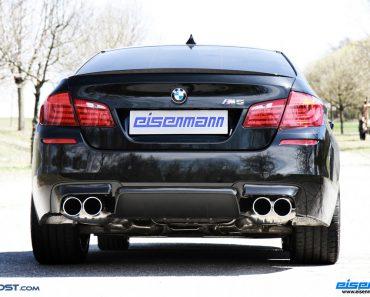 Eisenmann BMW M5 exhaust