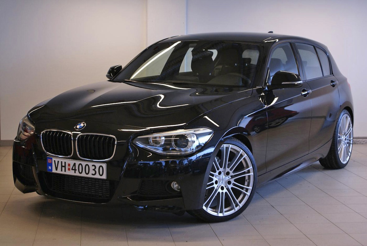 hartge delivers one of the first f20 bmw 1 series m sport bmw car tuning. Black Bedroom Furniture Sets. Home Design Ideas