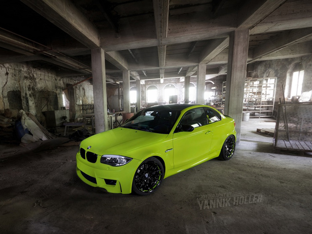 Hulk's Lime Green BMW 1M