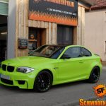 Hulk's Lime Green BMW 1M (6)