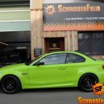 Hulk's Lime Green BMW 1M (7)