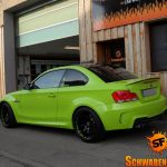 Hulk's Lime Green BMW 1M (8)