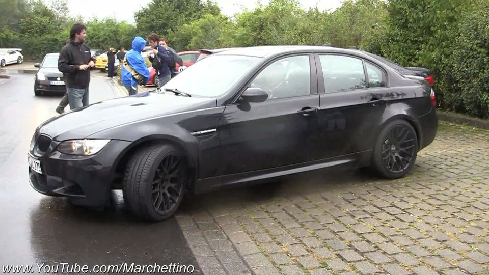 Supercharged BMW E92 M3 and exhaust goes visual | BMW Car Tuning