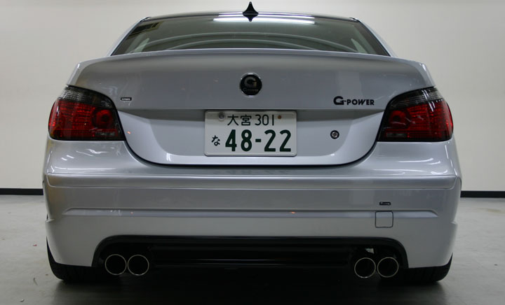 E60 BMW 5 Series by G-Power