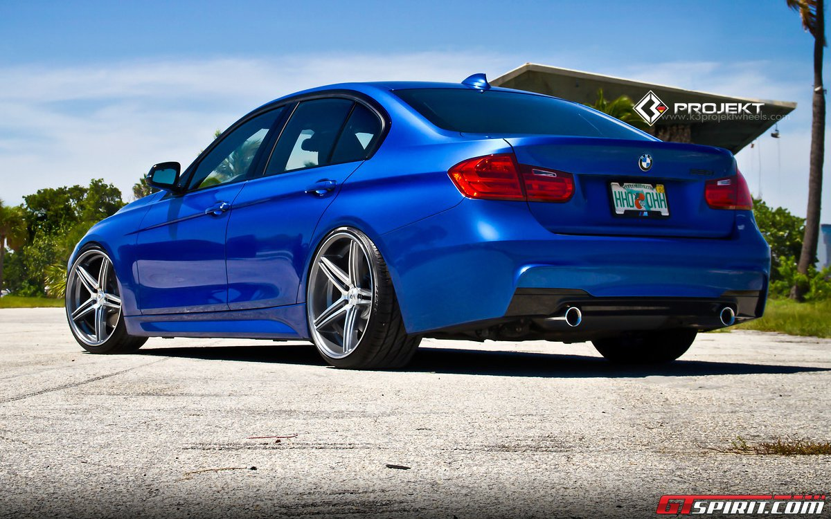 F30 BMW 3 Series by K3 Projekt Wheels