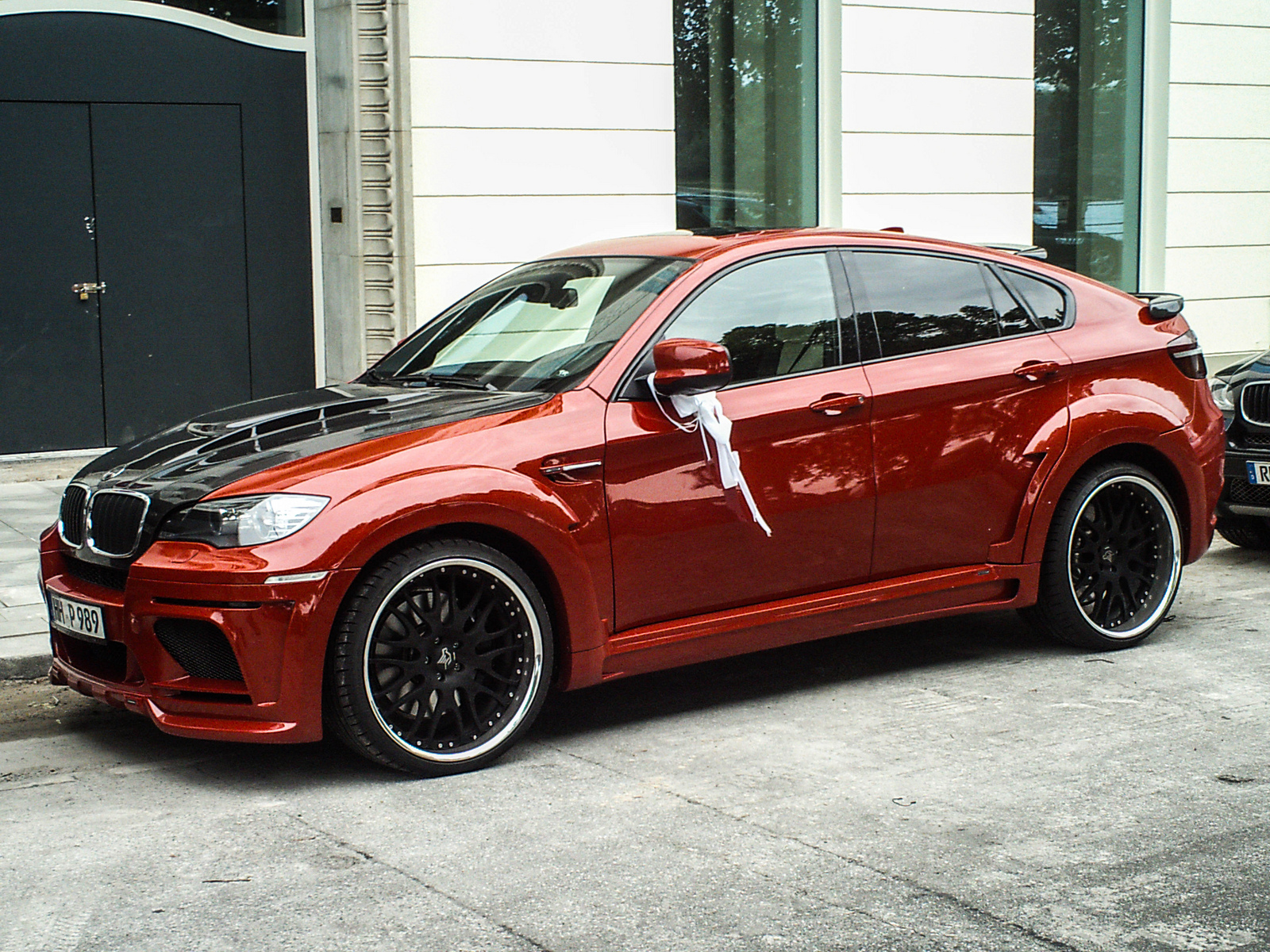 Hamann Tuning S Bmw X6 M Caught On Video Bmw Car Tuning