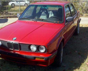 E30 BMW 3 Series with engine swap