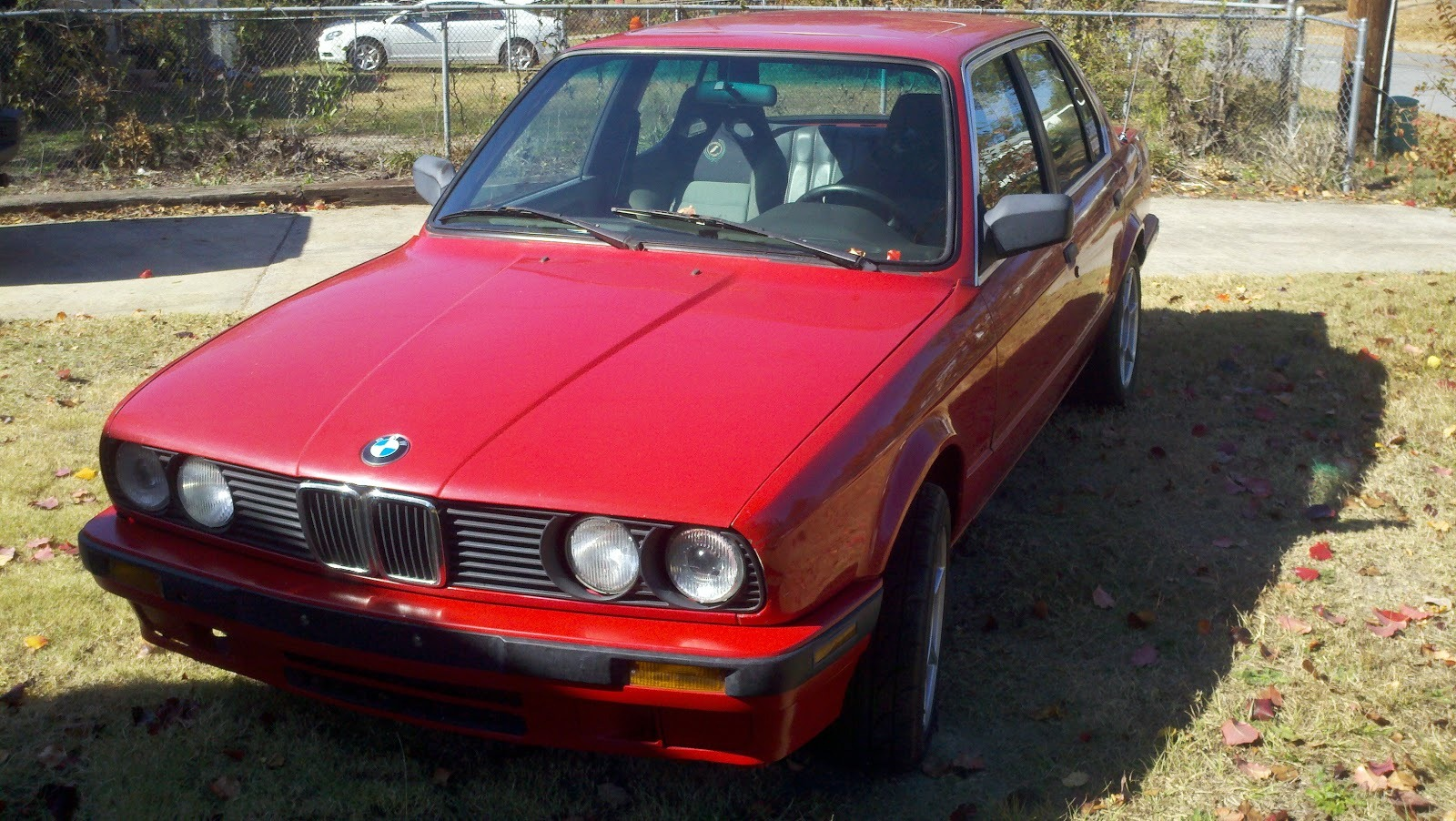 E30 BMW 3 Series with engine swap