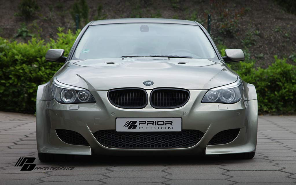 e60 bmw 5 series by prior design bmw car tuning. Black Bedroom Furniture Sets. Home Design Ideas