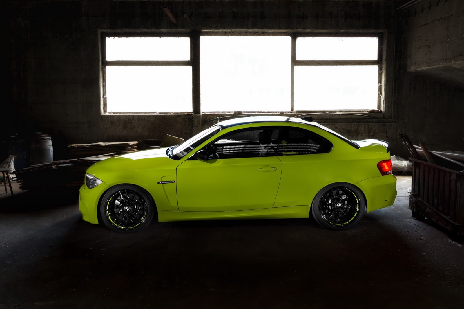 BMW 1 Series M Coupe by Schwabenfolia