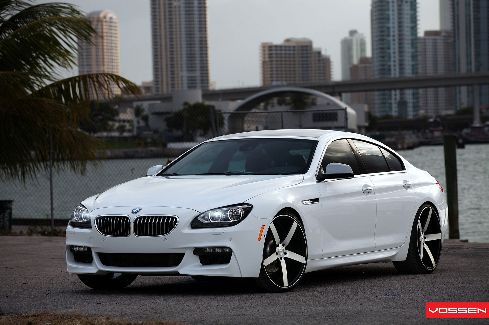 BMW 6 Series Gran Coupe on Vossen Wheels