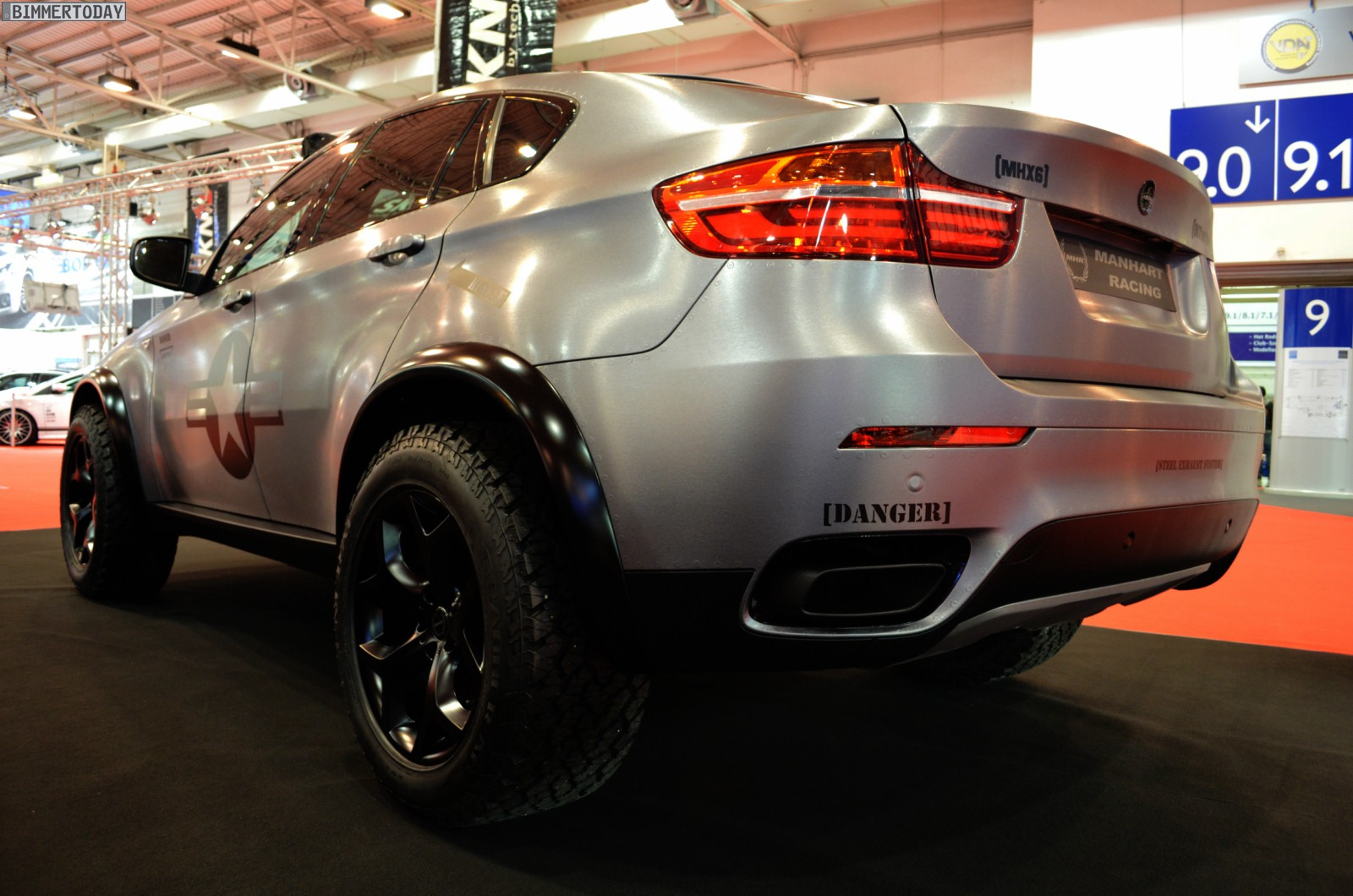 E71 Bmw X6m Dirt Edition By Manhart Racing Bmw Car Tuning