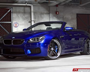 F13 BMW M6 with HRE wheels