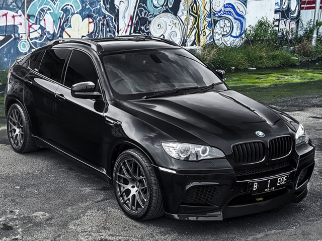 BMW X6 M Supreme Power and Vorsteiner