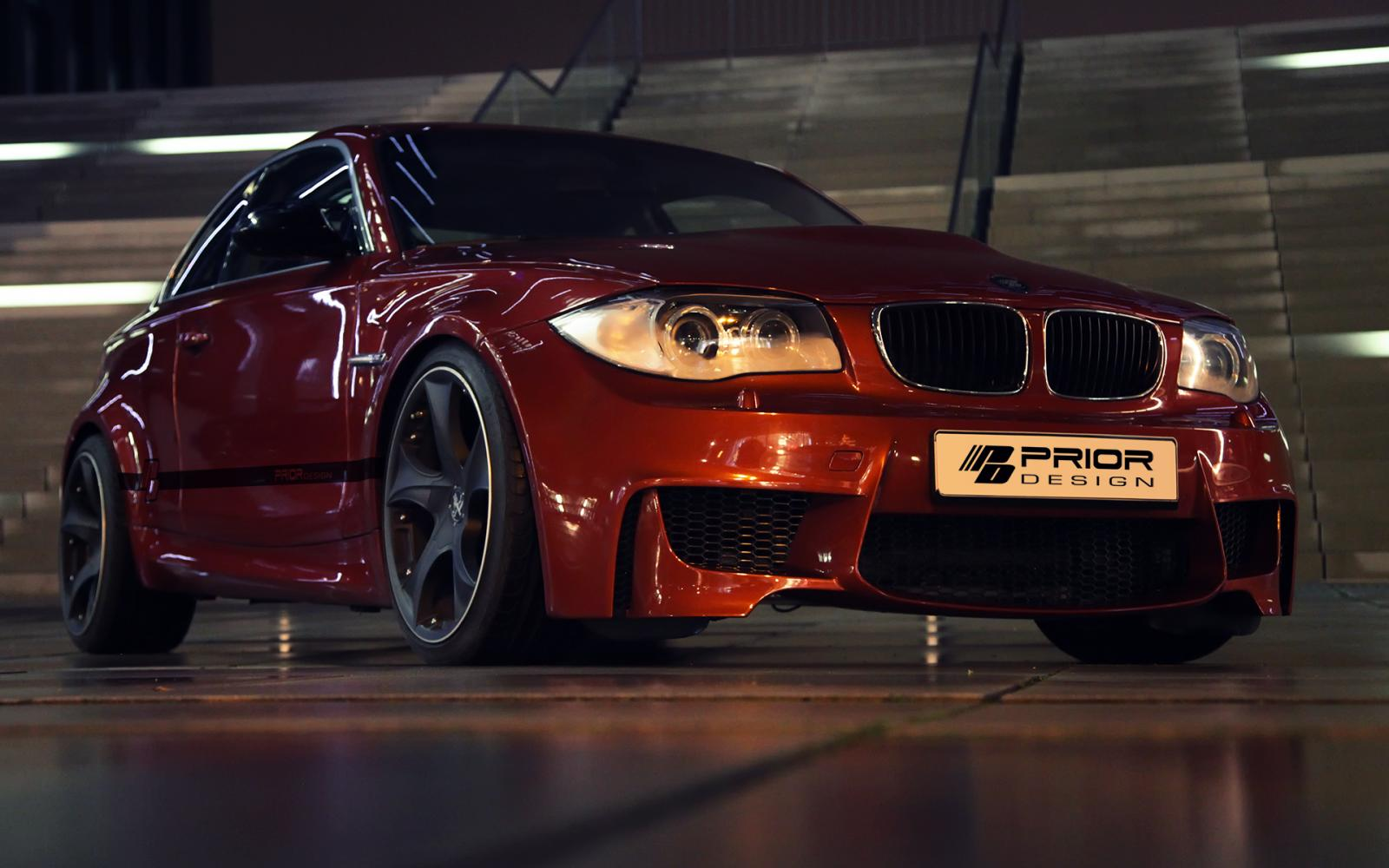 prior design showcases pdm1 kit for e82 bmw 1 series bmw car tuning. Black Bedroom Furniture Sets. Home Design Ideas