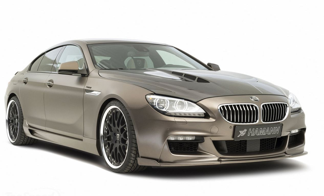 hamann bmw 6 series gran coupe m sport package update. Black Bedroom Furniture Sets. Home Design Ideas