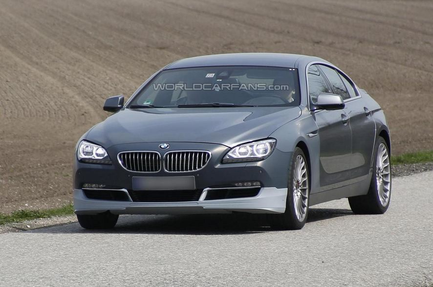 Alpina BMW 6-Series GranCoupe Spy Shot