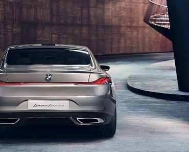 BMW Gran Lusso Coupe by Pininfarina