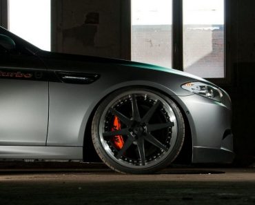 F10 BMW M5 - Manhart Racing MH5 S Biturbo