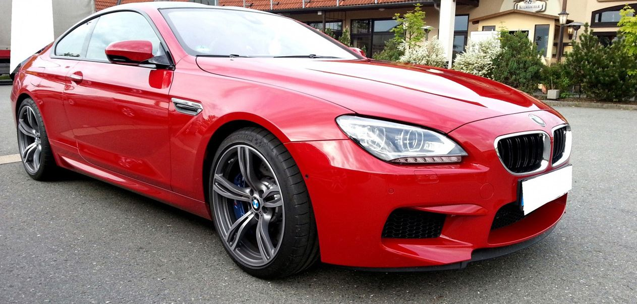 Imola Red BMW M6