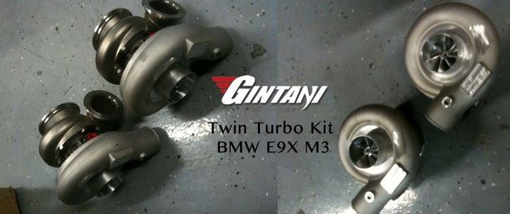 Gintani Turbo Kit for BMW M3
