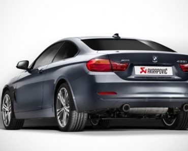 BMW 435i with Akrapovic Evolution Exhaust
