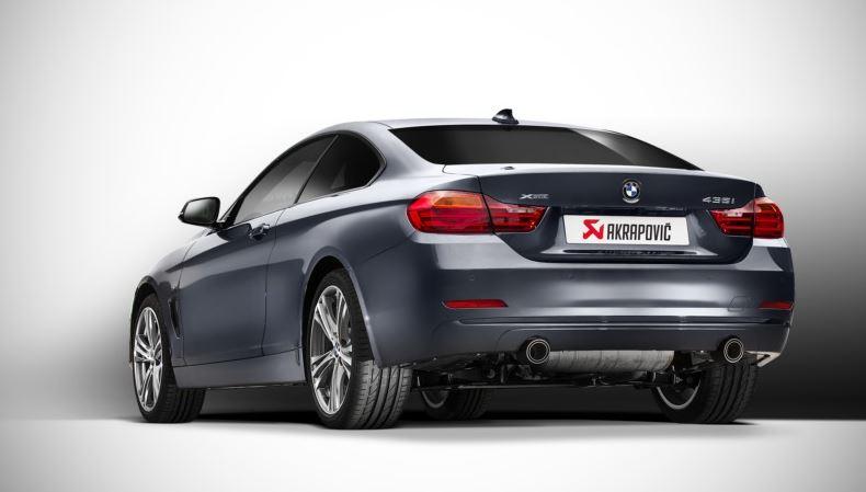 BMW 435i with Akrapovic Evolution Exhaust