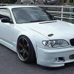 Nissan Silvia turned to BMW 3 Series
