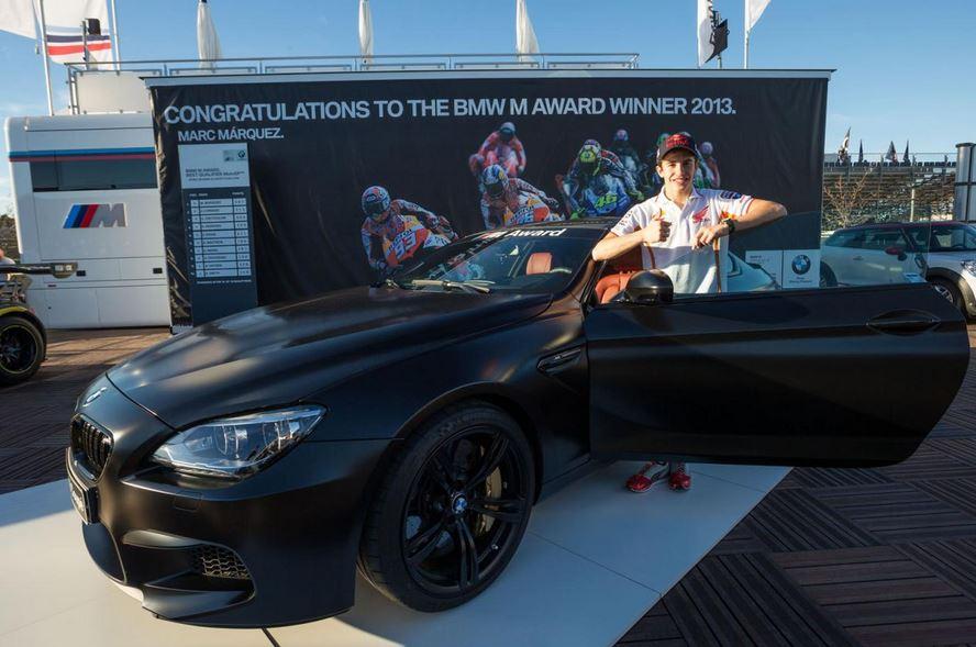 Marc Marquez's F13 BMW M6