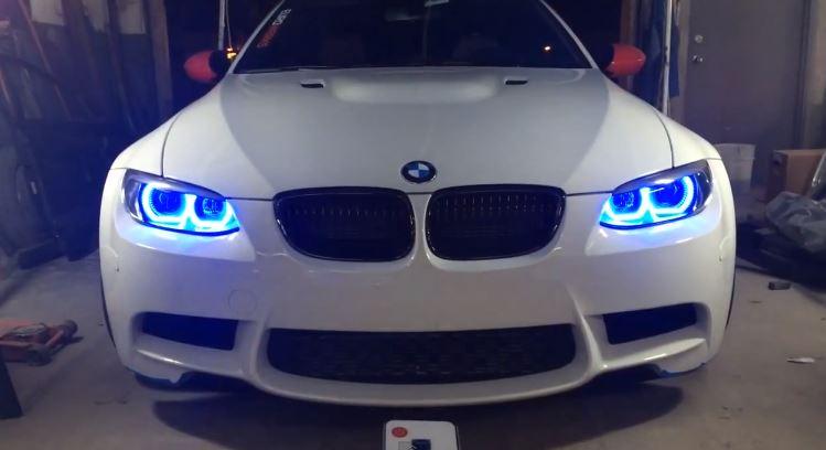 E92 BMW M3 Corona Rings