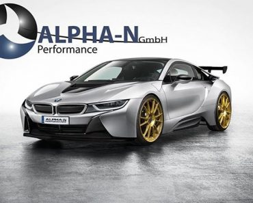 Alpha-N BMW i8 Rendering