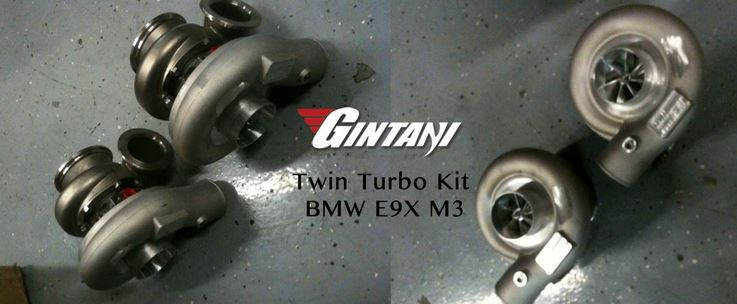 E9x BMW M3 twin turbo by Gintani