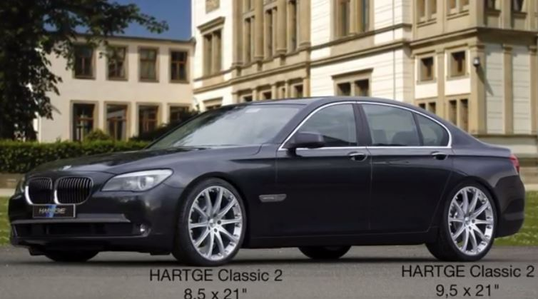 hartge provides upgrade for f01 bmw 7 series bmw car tuning. Black Bedroom Furniture Sets. Home Design Ideas