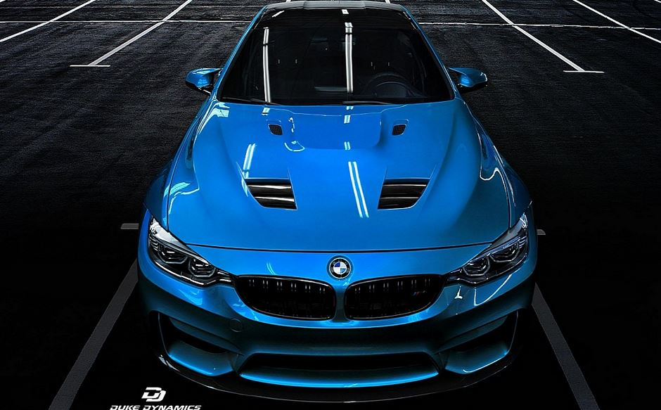 MD4 BMW M4 Rendering