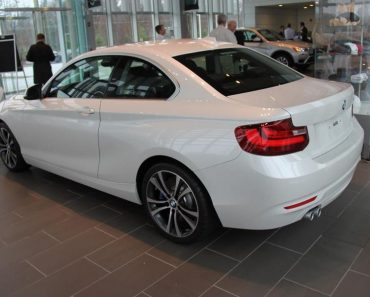 BMW 228i Coupe with Track Handling Package