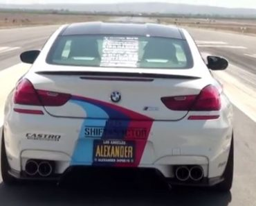 F13 BMW M6 with Castro GT exhaust