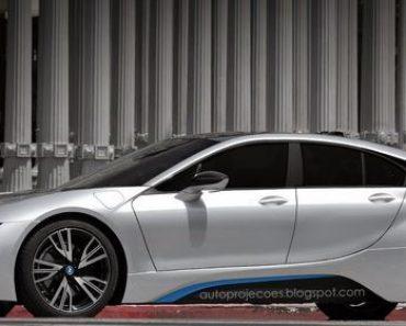 Four Doors BMW i8 Rendering