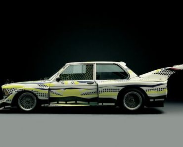 Roy Lichtenstein's BMW 320i Turbo Art Car