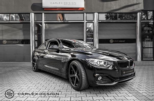 BMW Series Interior By Carlex Design BMW Car Tuning - Bmw 4 series interior