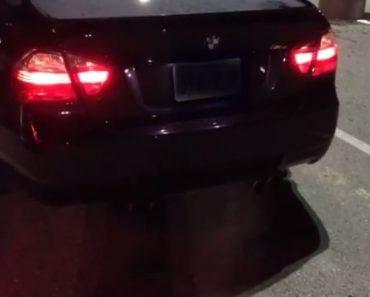 BMW M3 Sound off
