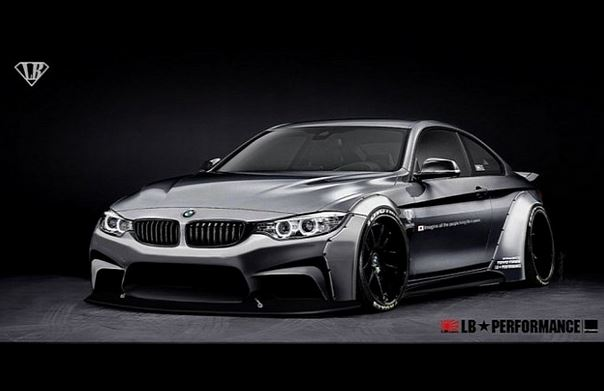 Liberty Walk BMW 4 Series
