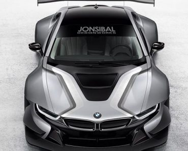 Race BMW i8 rendering