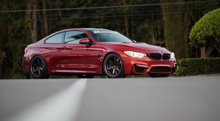 Sakhir Red BMW M4 by PSI