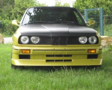 E30 BMW 3 Series pickup conversion
