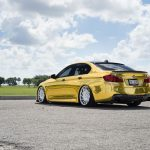 BMW 5 Series on Vossen wheels