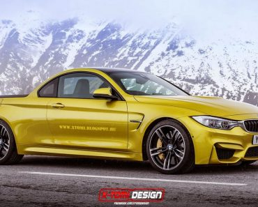 BMW M4 pickup by X-Tomi Design