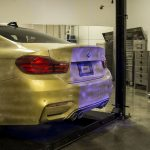 BMW M4 wide body kit from Vorsteiner