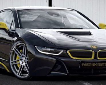 BMW i8 by Manhart - preview
